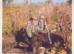 Trophy black bear