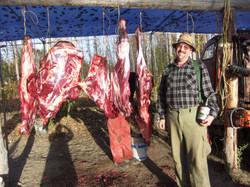BC moose meat