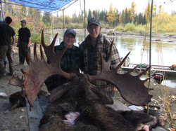 two on one moose hunts