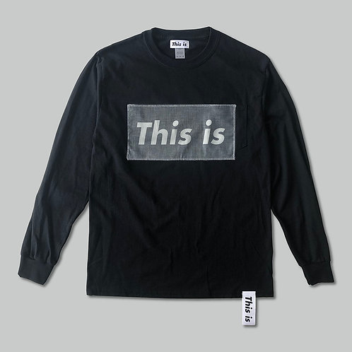 This is the Long Tee[This is]BK