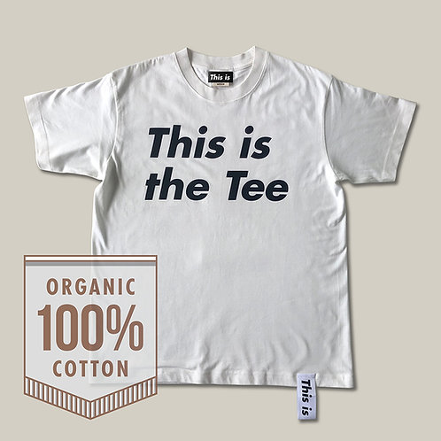 This is the Tee[Organic]WH