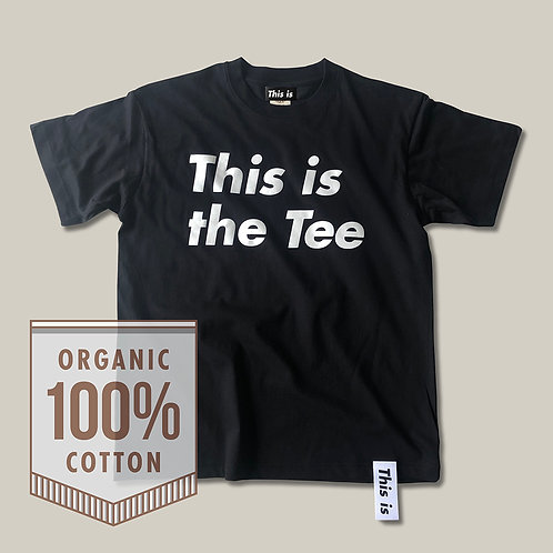 This is the Tee[Organic]BK