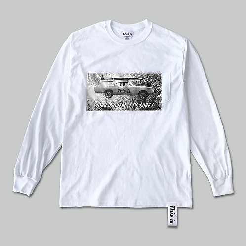 This is the Long Tee[LET'S SURF!]WH