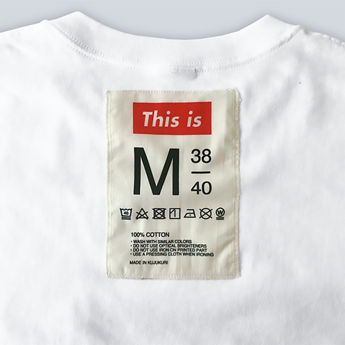 This is the Tee[Tag&Pocket]