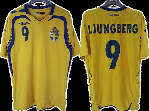 Maillot Umbro - Suede Domicile 2008-2009 - Freddy Ljungberg #9 - M