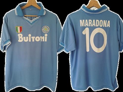 Maillot Naples - Diego Armando Maradona (L)