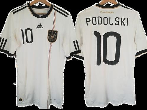 Maillot Adidas - Allemagne Domicile 2010-2012 M - Lukas Podolski