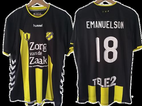 Maillot Hummel - FC Utrecht 2017-2018 - Urby Emmanuelson #18 XL
