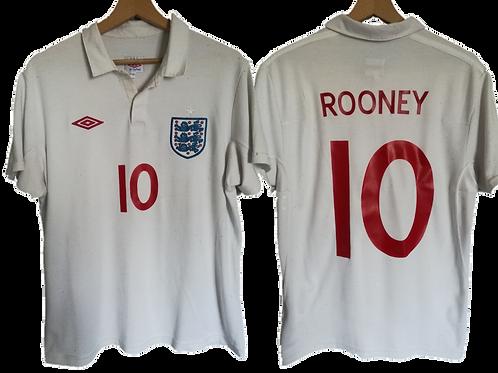 Maillot Umbro - Angleterre Domicile 2010-2011 - Wayne Rooney #10