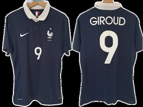 Maillot Nike - France 2014 - Olivier Giroud #9 (L)