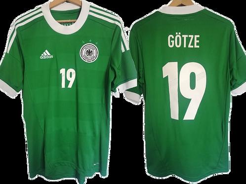 Maillot Adidas - Allemagne Extérieur 2012-2014 - Mario Gotze #19 (S)