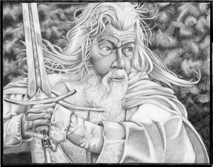 Gandalf - light of Mordor