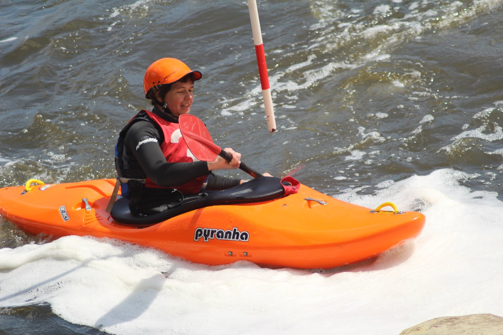 At the white water centre