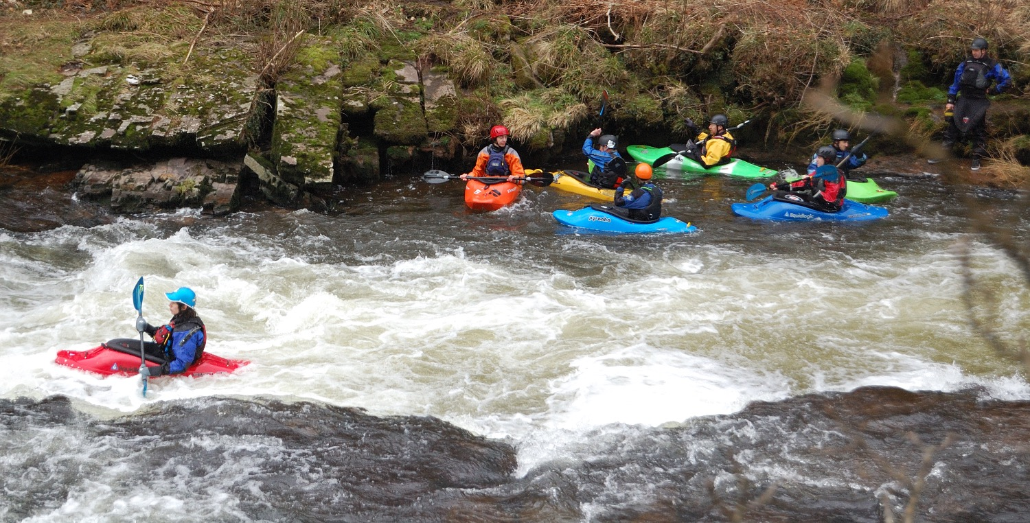 Whitewater Practice