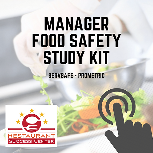 Manager Food Safety Study Kit