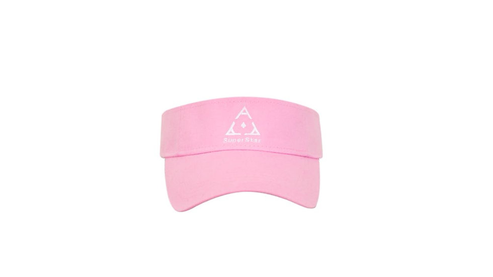 Superstar Order Pink Visor Caps
