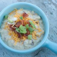 twice baked potato soup