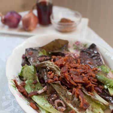 Warm Bacon Salad