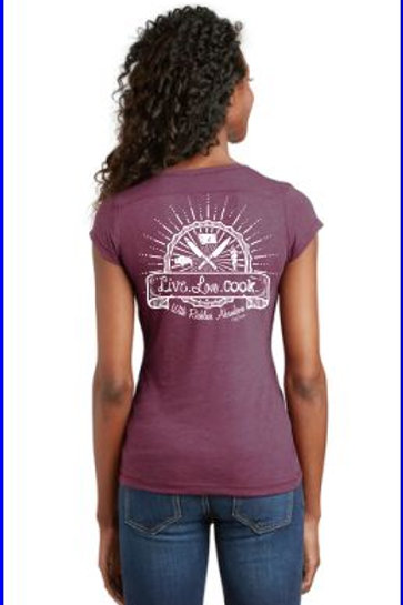 Women's Live.Love.Cook T-Shirt