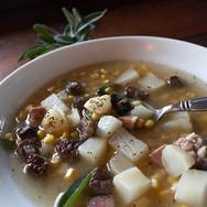 papa lakota dried meat soup