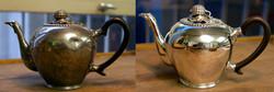 Teekanne Silber