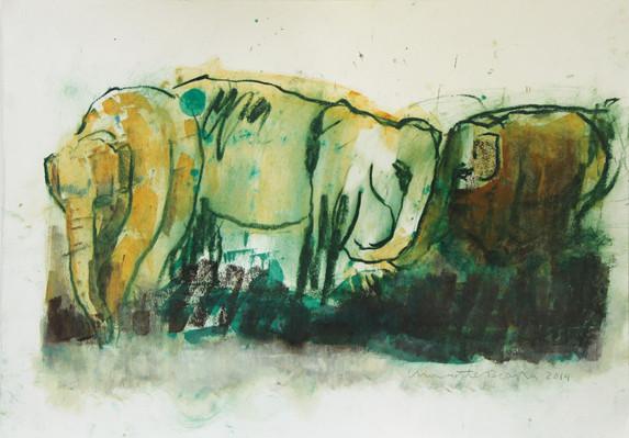 ELEPHANTS paintings