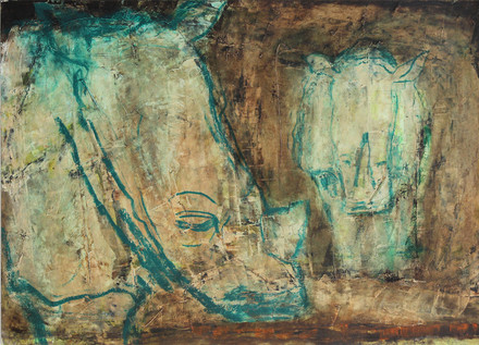 RHINO paintings