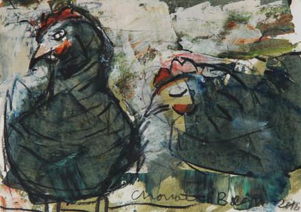 HENS paintings