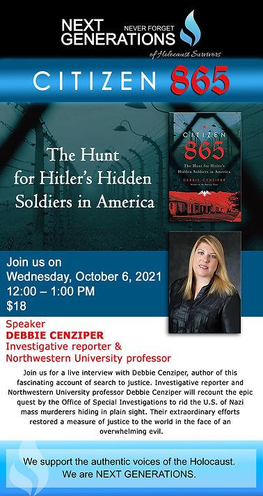 Citizen 865 - The Hunt for Hitlers Hidde