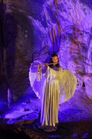 A Christmas Fairytale at Postojna Cave