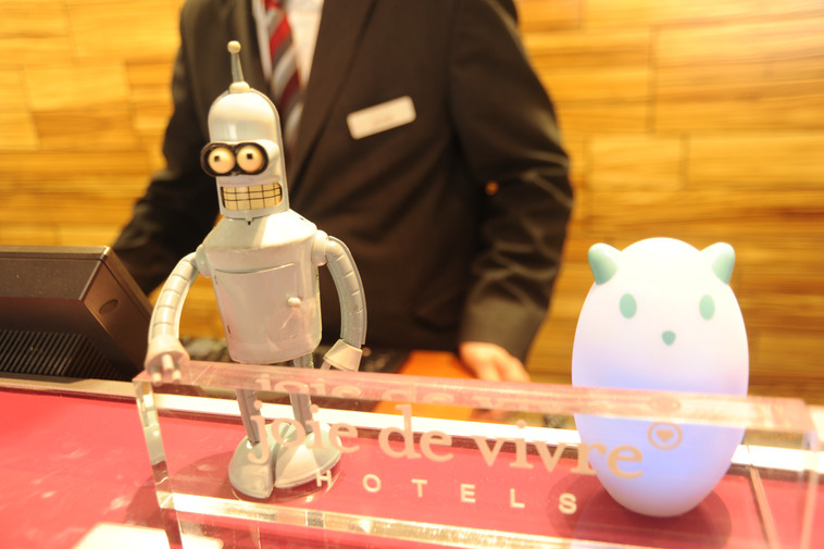 Bender welcomes you to joie de vire hotel