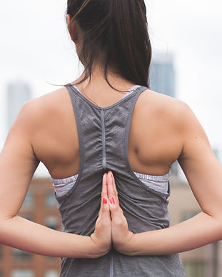 Reversed Namaste