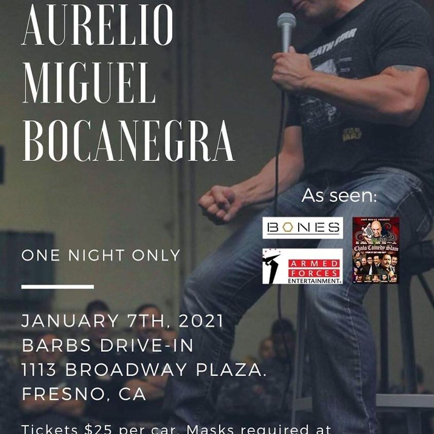 Comedy Show - MARSO MC PRESENTS: AURELIO MIGUEL BOCANEGRA - 7:30pm Showtime