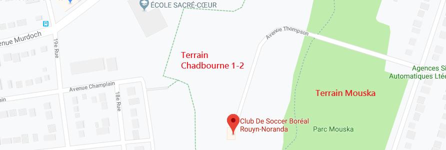 Terrain Chadbourne 1-2 / Terrain Mouska