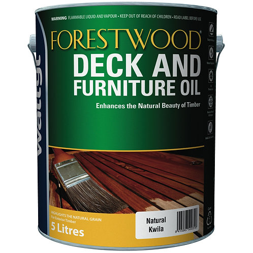 FORESTWOOD DECK & FURNITURE OIL 5L