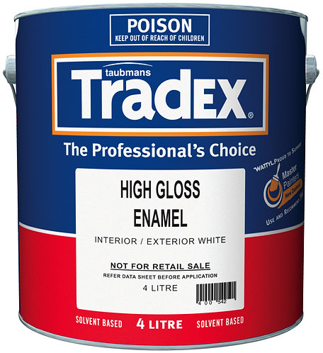 TRADEX ENAMEL - HIGH GLOSS 4L