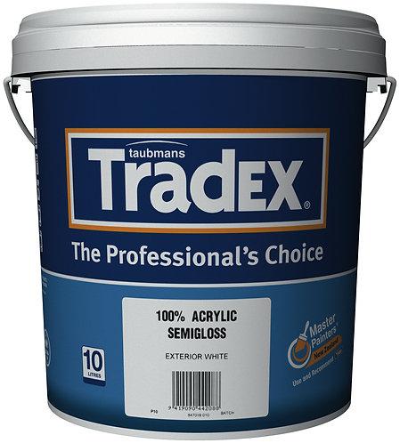 TRADEX ACRYLIC EXTERIOR - SEMI GLOSS 10L