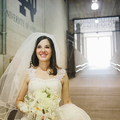 Weddings: Angie and Brock: A Notre Dame Wedding