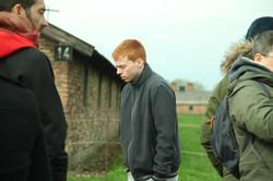 Student in Auschwitz Birkenau