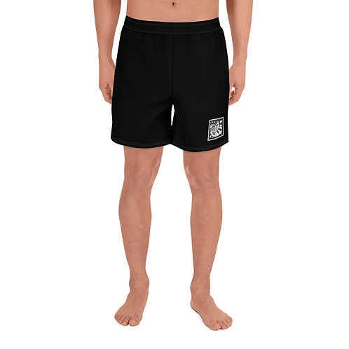 Piano Spiral Men's Athletic Long Shorts