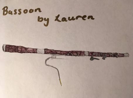 Instrument: Bassoon by Lauren