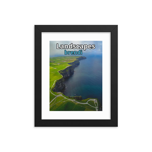 Landscapes Framed poster