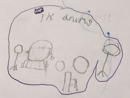 Instrument : the Drums by Cormac