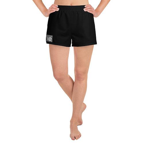 Piano Spiral Women's Athletic Short Shorts