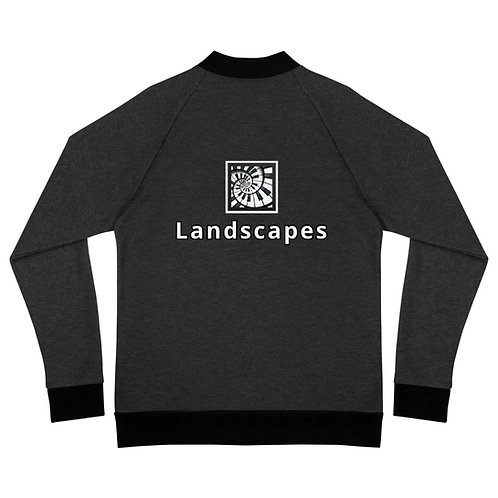 'Landscapes' Bomber Jacket
