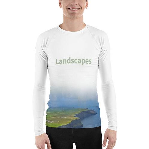 'Landscape' Men's Sports Longsleeve
