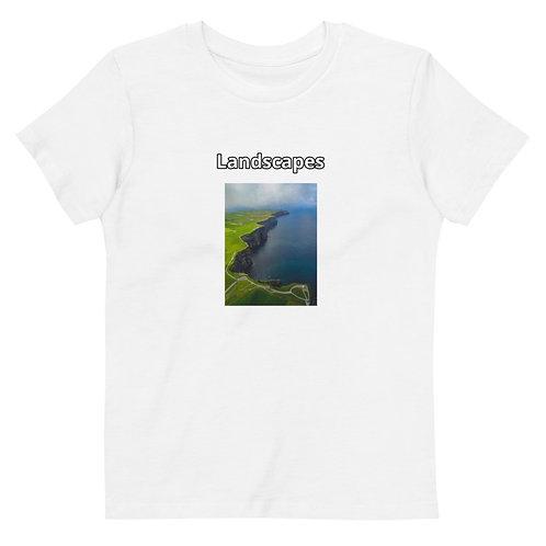 'Landscapes' Organic cotton kids t-shirt