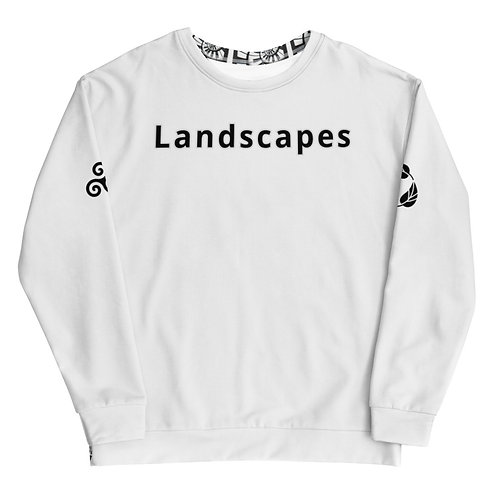 'Landscapes' piano spiral Sweatshirt