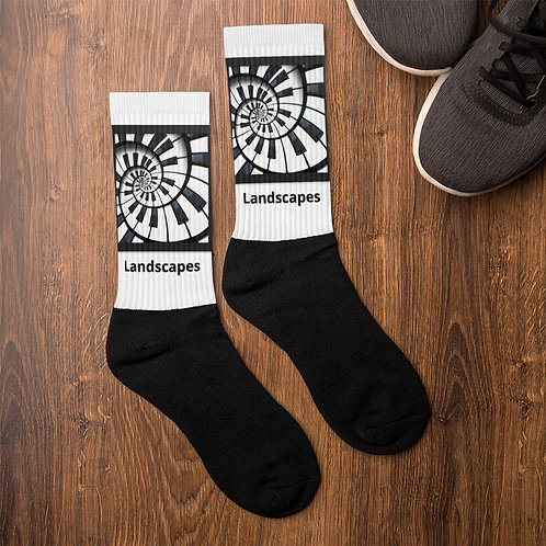 'Landscapes' Socks
