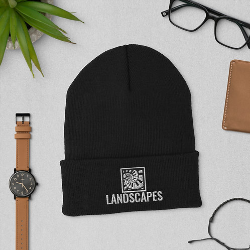 'Landscapes' Cuffed Beanie